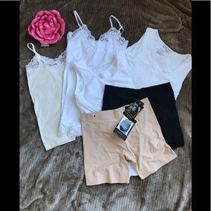 Lingerie and Shapewear Bundle, Multiple Sizes
